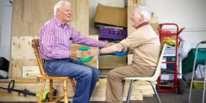 strength rings, exercise, exercise for seniors, chair exercises for seniors