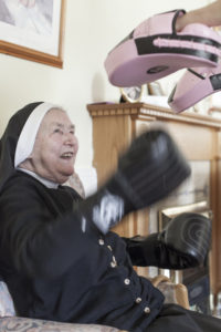 exercise, boxing, fitness classes for seniors