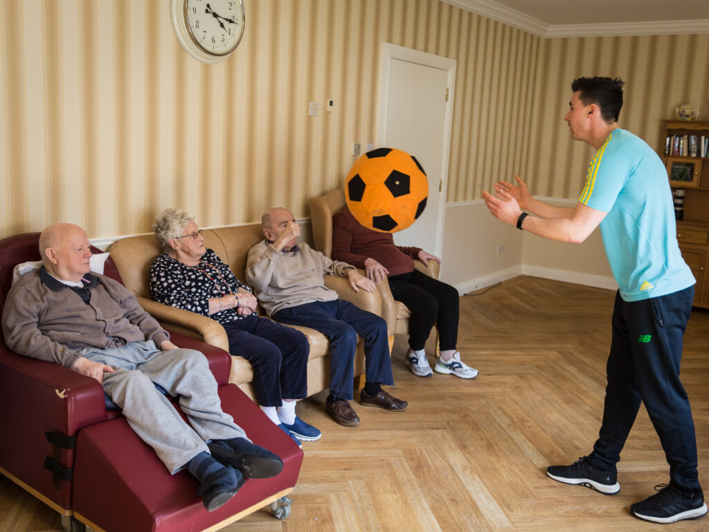 nursing home, day care centres, siel bleu ireland, exercise, fitness