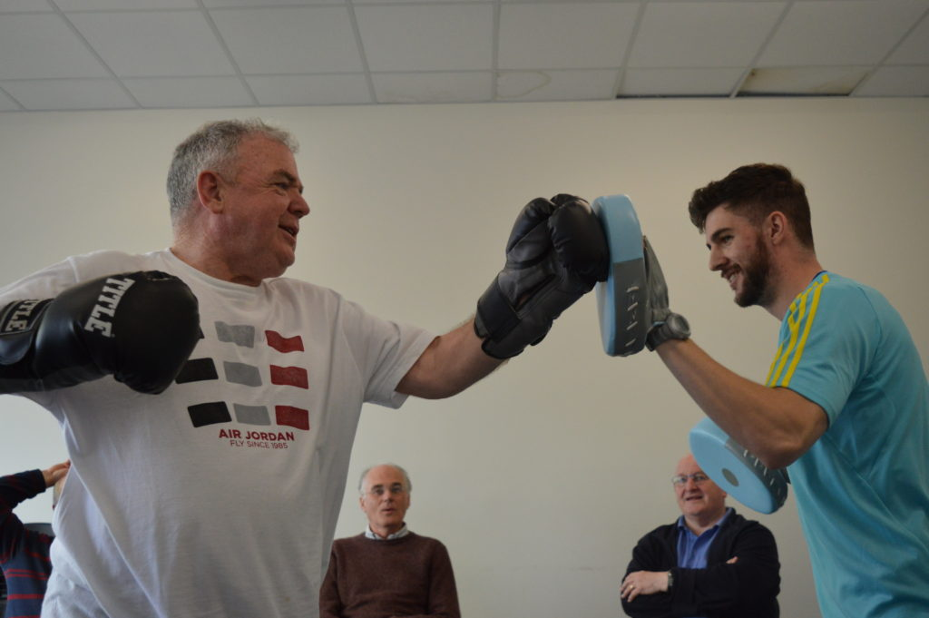boxfit, exercise for seniors