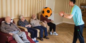 nursing home, day care centres, siel bleu ireland, exercise, fitness
